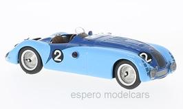 Bugatti Type 57G #2 Winner LeMans 1937 J. P. Wimille / R. Benoist hellblau / blau