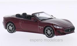 Maserati Grancabrio Sport seit 2012  dunkelrot met.