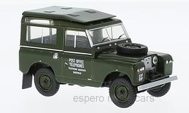"Land Rover Series II SWB 1958-1971 RHD Hardback ""Post Office Telephones"" dunkelgrün"