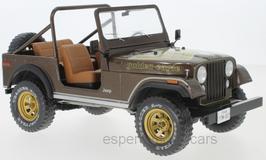 Jeep CJ-7 Golden Eagle 1976-1980 dunkel braun met. / Decor gold