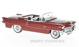 Cadillac Eldorado Biarritz Convertible 1957-1958 dunkelrot met.