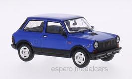 Autobianchi A112 Abarth Phase V 1979-1983 blau