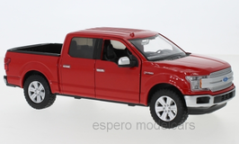 Ford F-150 Lariat Crew Cap Pick Up 2019 rot
