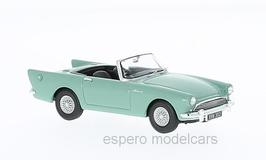Sunbeam Alpine 1958 RHD Prototyp XRW 302 hellgrün