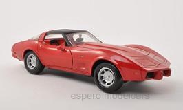 Chevrolet Corvette C3 Phase IV 1978-1979 rot / schwarz