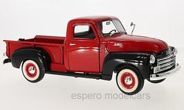 GMC 150 Pick Up 1950 rot / schwarz