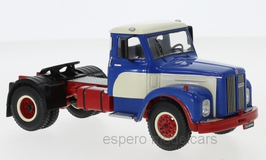 Scania 110 Super LKW Zugmaschine 1953 blau / weiss / rot