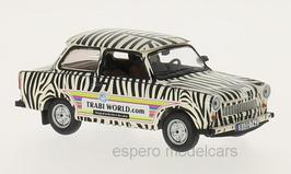 """Trabant 601 Limousine 1964-1990 """"Zebra Design Safari"""" weiss / schwarz"""
