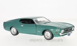 Ford Mustang I Phase IV Sportroof 1971-1973 türkis met.