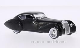 Delage DS 120S Pourtout Aero Coupé 1937 RHD schwarz