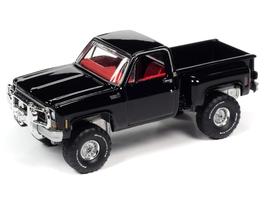 Chevrolet Custom Deluxe Stepside Pick Up 1980 Midnight Black