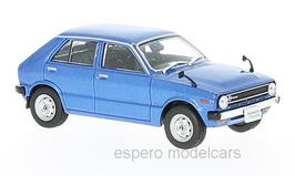 Daihatsu Charade G10 Phase I 1977-1980 RHD dunkelblau met.