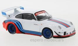 Porsche 911 / 993 RWB Rauh-Welt Martini weiss / Decor