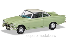 Ford Consul Capri Coupé 1962-1964 Lime Green / Ermine White