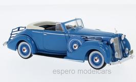 Packard Victoria Convertible 1938 hellblau