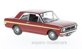 Ford Lotus Cortina MK II 1967-1970 RHD dunkelrot / gold