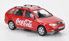 Skoda Fabia Combi Phase I 1999-2004 Coca Cola rot / weiss