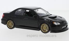 Subaru Impreza WRX STI II Phase III 2005 2007 schwarz