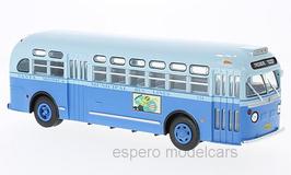 "General Motors TDH 3714 Linienbus 1955 ""Santa Monica Municipal blau / hellblau"""
