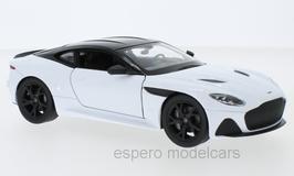 Aston Martin DBS Superleggera seit 2019 weiss / schwarz