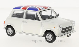 Austin Mini Cooper 1300 1974 UK Flag weiss