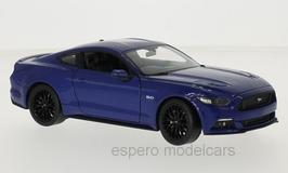 Ford Mustang VI ab 2015 dunkelblau met.