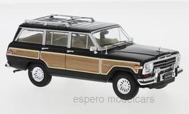 Jeep Grand Wagoneer 4WD 1987-1991 schwarz / Holzoptik