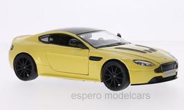 Aston Martin V12 Vantage S seit 2013 gelb met.