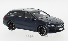 Mercedes-Benz CLA Shooting Brake X118 seit dunkelblau met.