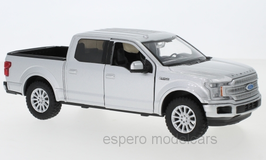 Ford F-150 Limited Crew Cab Pick Up 2019 silber met.