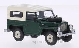 Land Rover Lightweith Serie III 1972- 1985 RHD dunkelgrün / weiss