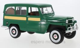 Jeep Willys Station Wagon 1954-1965 grün / gelb