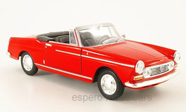 Peugeot 404 Cabriolet 1961-1968 rot
