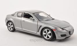 Mazda RX-8 Phase I 2003-2009 silber met.