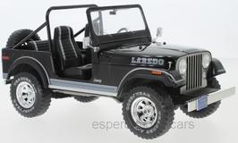 Jeep CJ-7 Laredo 1976-1986 schwarz