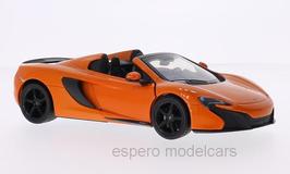 McLaren 650S Spider seit 2014 orange / schwarz