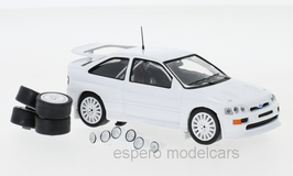 Ford Escort RS Cosworth Plain Body Version 1994 weiss / inkl. Zusatzteile