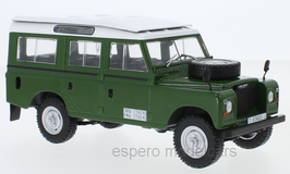 Land Rover Series III 109 1971-1983 dunkelgrün / weiss