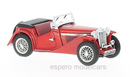 MG TC Roadster 1945-1960 rot