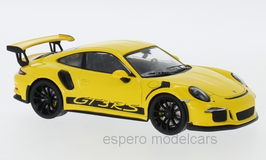 Porsche 911 / 991 GT3 RS Phase II 2017-2019 gelb / schwarz