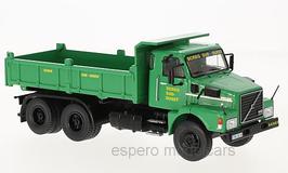 Volvo N10 SCREG LKW Kipper 1973-1988 grün / schwarz