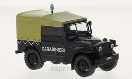 "Fiat Campagnola A.R. 1959 ""Carabinieri"" dunkelblau / beige"