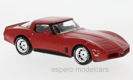 Chevrolet Corvette C3 Phase VI 1980-1982 rot