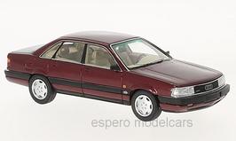 Audi 200 quattro 20V 1989-1991 dunkelrot met.