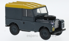 "Land Rover Series I 88 SWB Hard Top 1948 -1958 RHD ""RAF Royal Air Force dunkelgrau / gelb"