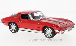 Chevrolet Corvette C2 Sting Ray 1962-1967 rot