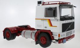 Volvo F1220 LKW Zugmaschine 1977 weiss / rot