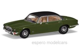Jaguar XJ12 Series II LWB 1973-1979 RHD grün / matt-schwarz