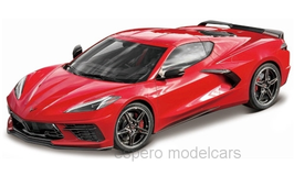 Chevrolet Corvette C8 seit 2020 rot / schwarz