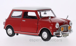 Austin Mini Cooper 1961-1969 rot/weiss